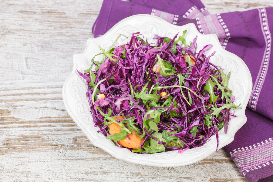 Cabbage and Apple Salad
