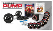 LES MILLS PUMP DVD Workout Package