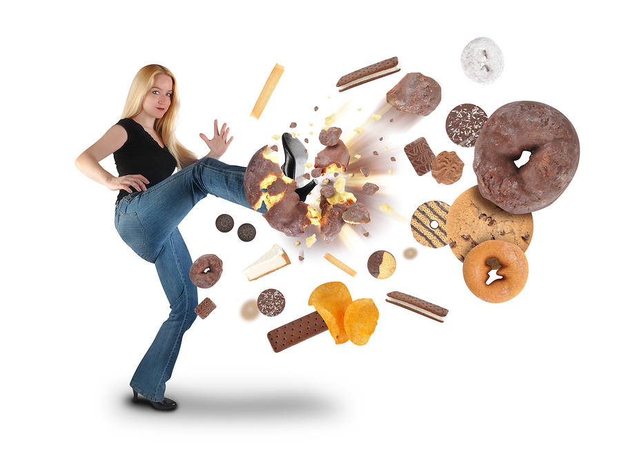 bigstock Diet Woman Kicking Donut Snack 32920040 2 Theres a Fungus Among Us: Candida