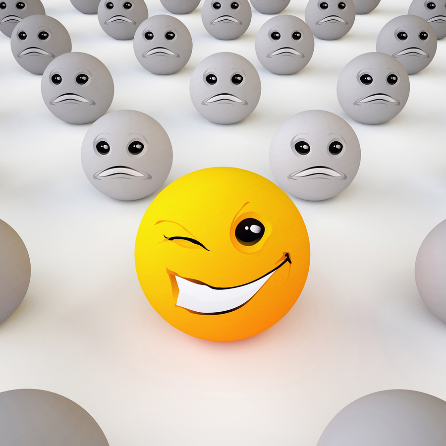 bigstock Smiley Ball 43031542 Stay Motivated in a Negative Environment
