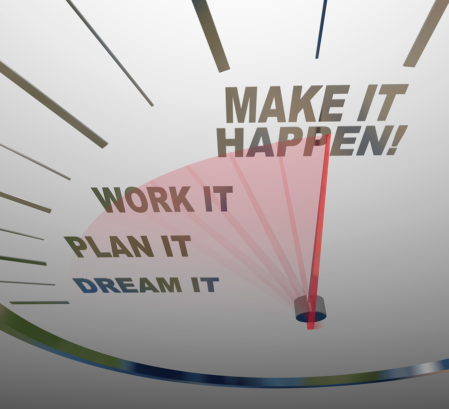 bigstock A white speedometer background 29356652 Time to Set Goals: 4 Easy Tips to Get Started